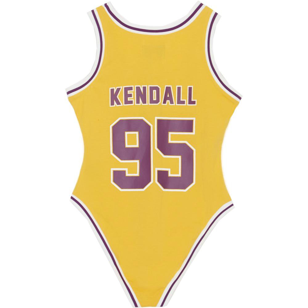 Sixth June BASKETBALL BODY (YELL) Body Kendall 95 jaune violet